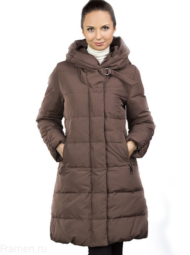Купить теплый финский женский пуховик