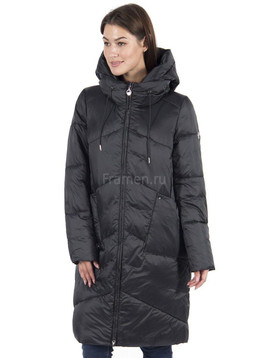 511538cb304 Пальто женское зимнее с капюшоном на синтепоне